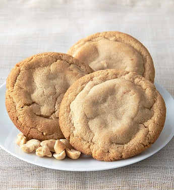 Flavor of the Month - Peanut Butter with Nuts Cookies