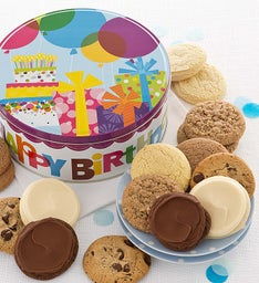 Musical Birthday Gift Tin - Sugar Free