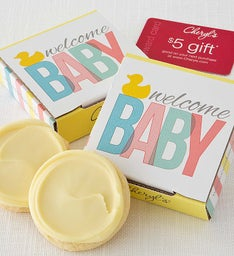 Welcome Baby Cookie & Gift Card