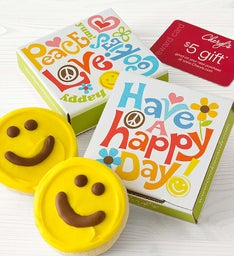 Happy Day Cookie Card - Yellow