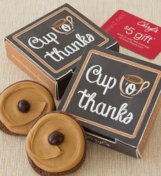 Cup O' Thanks Cookie Card