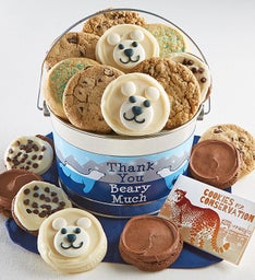 Thank You Beary Much Cookie Pail
