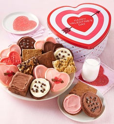 Love Struck Gift Tin - Cookies and Brownies
