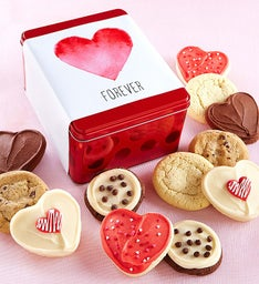 Love Forever Gift Tin - Create Your Own - 12 Cookies