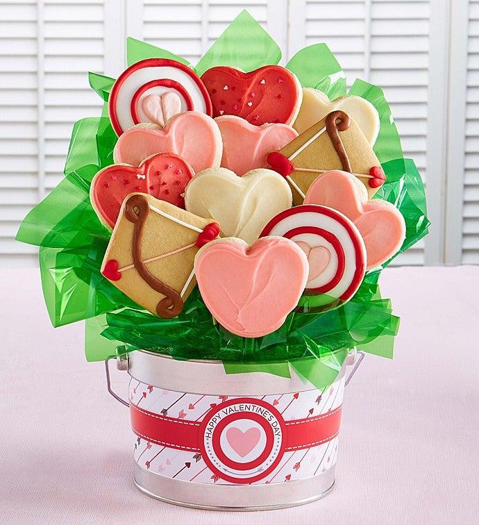 Happy Valentine S Day Cookie Flower Pot