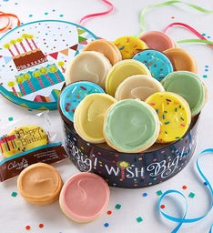 Musical Birthday Gift Tin - Frosted