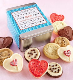 Eyes Off You Gift Tin - Create Your Own - 12 Cookies