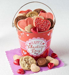 Valentine Treats Pail