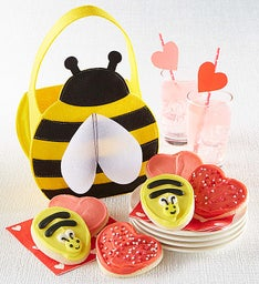 Bee Tote with Cutouts