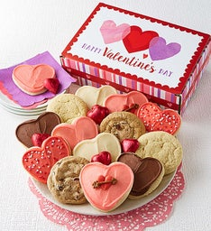 Happy Valentine's Day Cookie Box