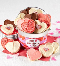 Happy Valentines Day Cookie Pail