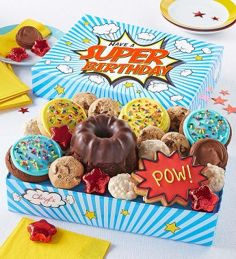 Super Birthday Party In A Box Hero by Cheryl's