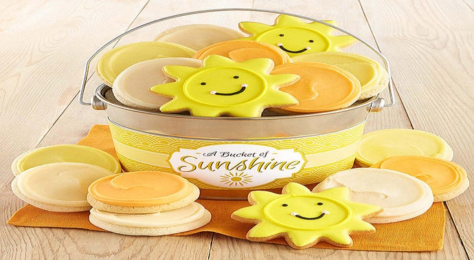 Bucket O39 Sunshine Cookie Pail