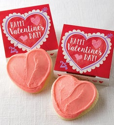 Happy Valentine's Day Cookie Card
