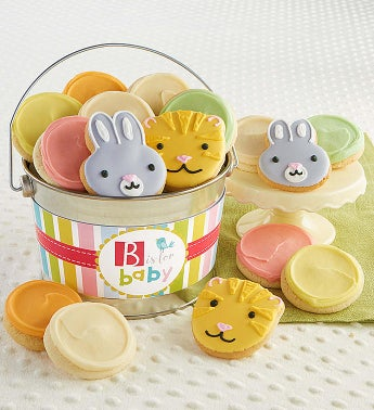 B Is For Baby Buttercream Pail