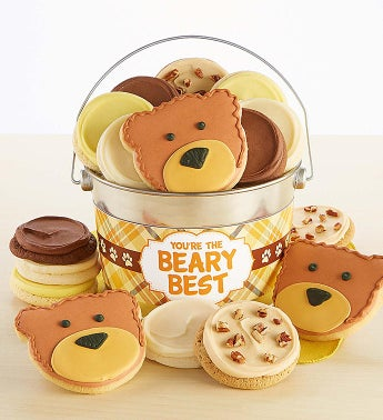 You're The Beary Best Cookie Pail Youre by Cheryl's