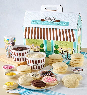 Cheryl's Cut-Out Cookie Decorating Kit Cheryls Bakery