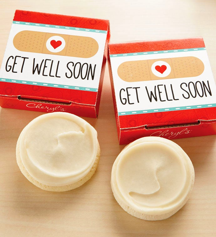 Get Well Soon Cookie Card