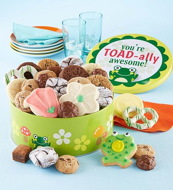 Toad-ally Awesome Gift Tin Treats Assortment