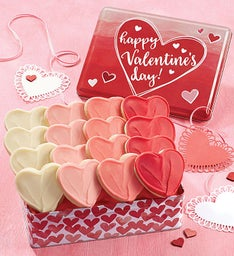 Happy Valentine Gift Tin - Buttercream Assortment