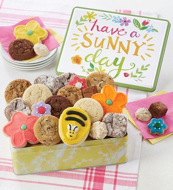 Have A Sunny Day Gift Tin - Treats Assortment by Cheryl's