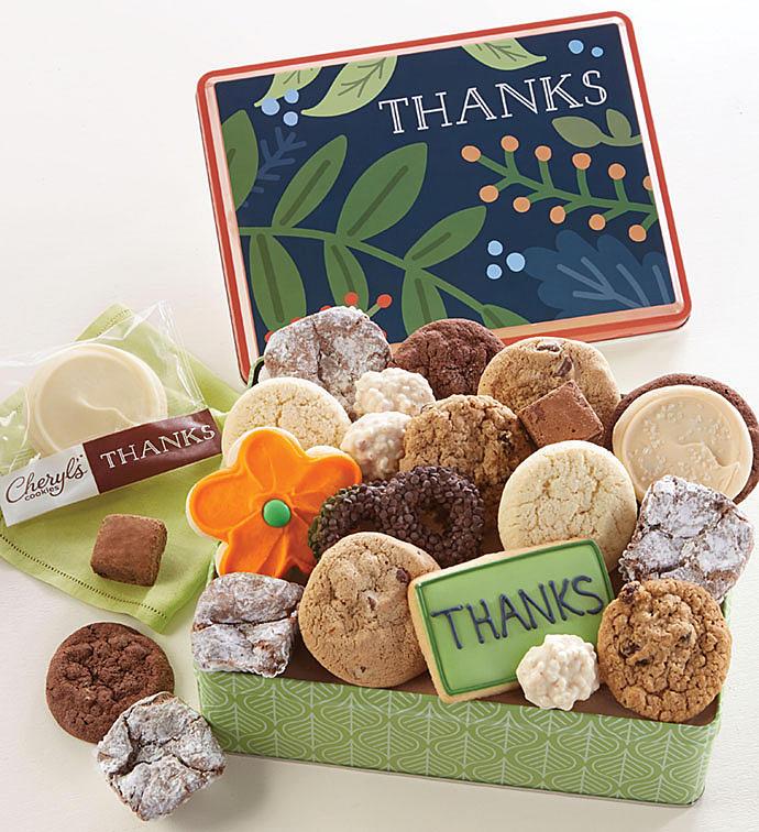 Thank You Gift Tin  Treats Assortment