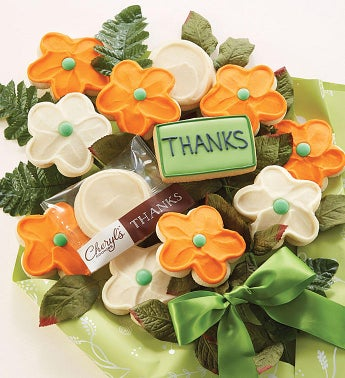 Cheryl's Thank You Cookie Flowers by Cheryl's