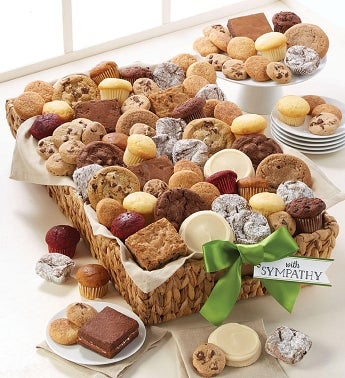 With Sympathy Gift Basket - Grand