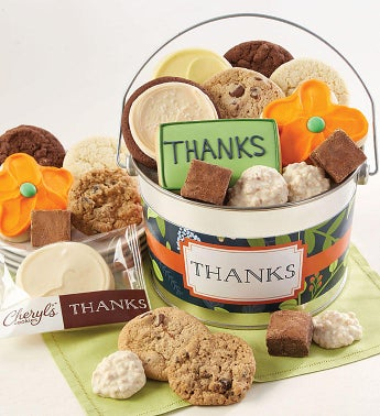 Thank You Treats Pail by Cheryl's