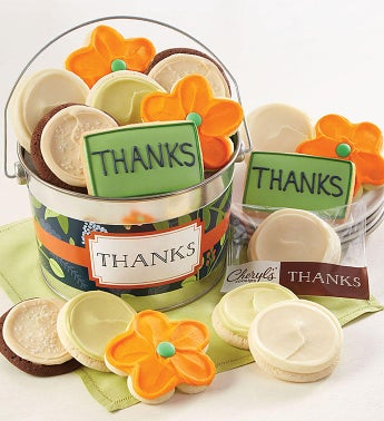 Thank You Cookie Pail by Cheryl's