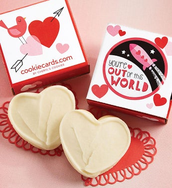 You're Out of This World Cookie Card