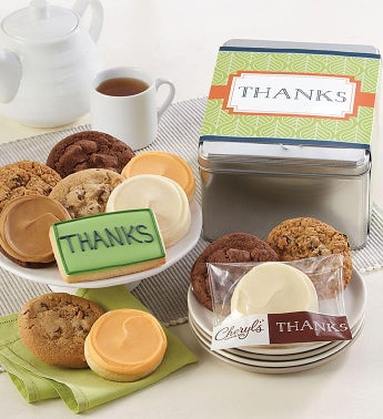 Thank You Gift Tin by Cheryl's