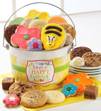 Have A Happy Birthday Treats Pail by Cheryl's