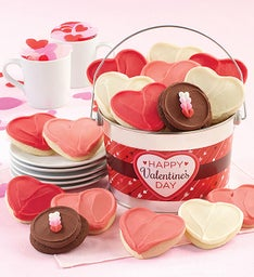 Happy Valentine39s Day Cookie Pail