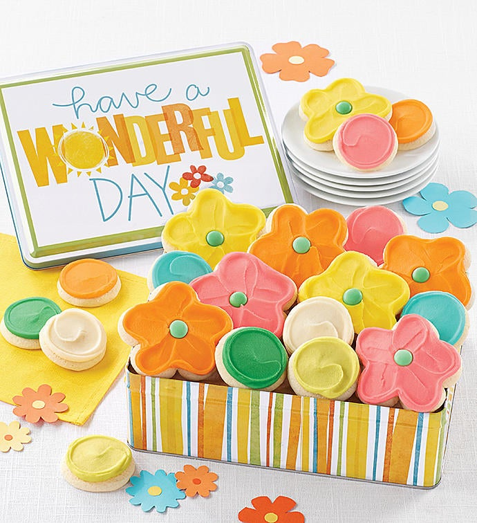 Have A Wonderful Day Gift Tin From 1 800 Flowerscom