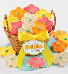 Springtime Cut out Cookie Basket