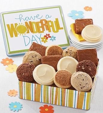 Have A Wonderful Day Gift Tin Gluten Free SnipeImage