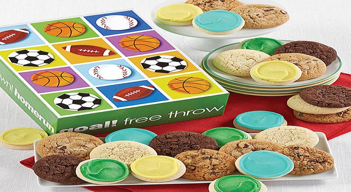 Sports Cookie Gift Box