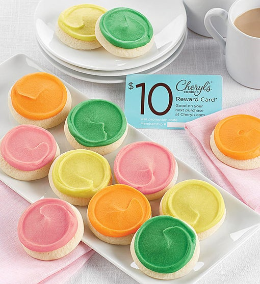 One Dozen Snack Size Frosted Cookie Assortment