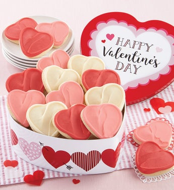 Happy Valentine Gift Tin - Cut-outs