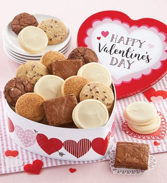 Happy Valentine Gift Tin Gluten Free Assortment