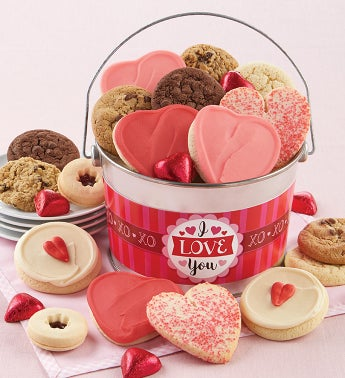 I Love You Treats Gift Pail