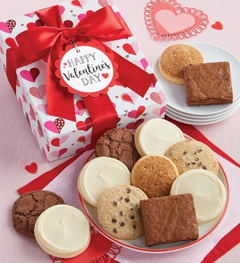 Gluten Free Valentine Cookie Box - 12 Pieces
