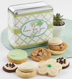 Here for You Treats Gift Tin