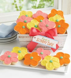 Buttercream Frosted Spring Cutout Tray Gift