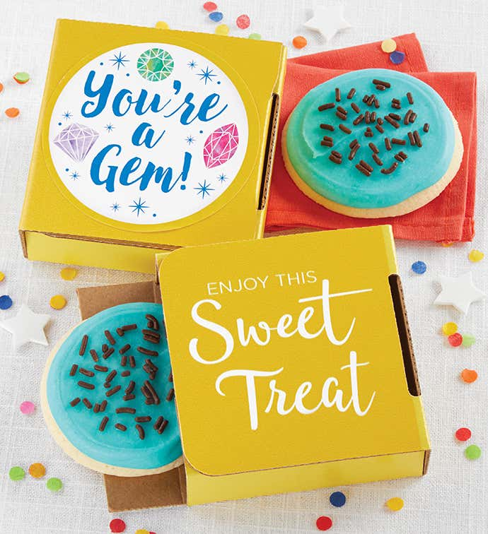 You Are a Gem Cookie Card