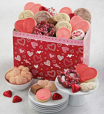 Happy Valentines Day Treats Box
