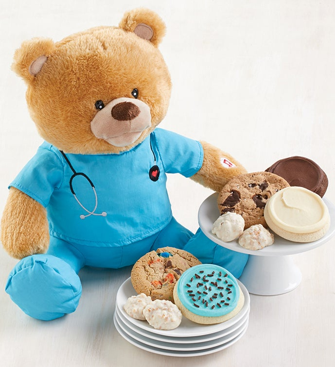 Nurse Bear with Treats