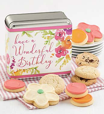 Have a Wonderful Birthday Treats Gift Tin