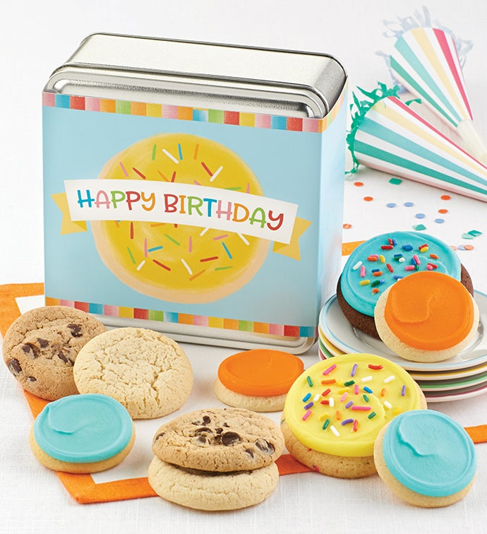 Happy Birthday Mini Gift Tin